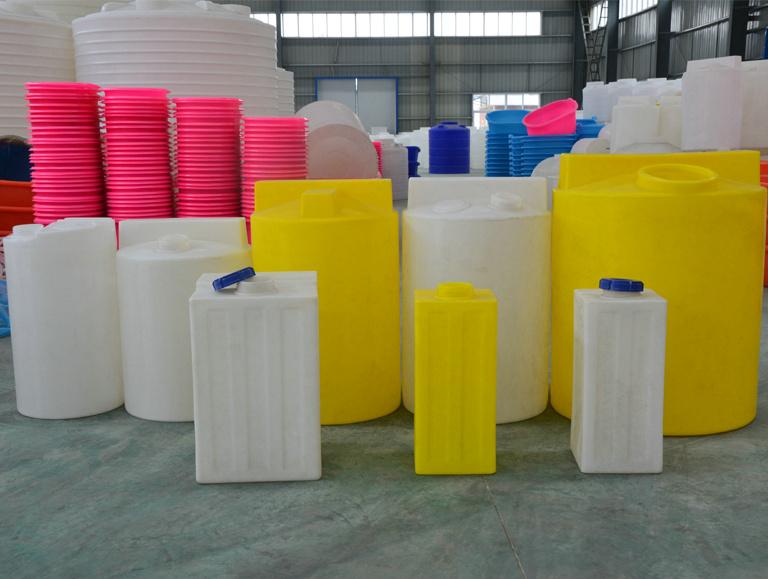 5吨容量抗腐蚀聚乙烯搅拌罐