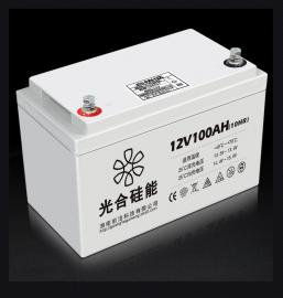 光合硅能铅酸蓄电池 12V75AH太阳能发电系统12伏蓄电池/参数