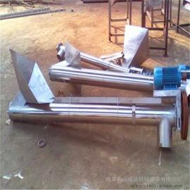 小型螺旋输送机固定型 腻子粉螺旋提升机
