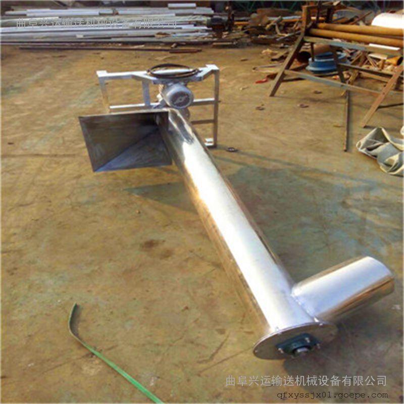 推荐不锈钢螺杆提升机 小型菜籽饲料螺旋上料机