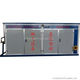 荣铖燃气设备CNG供气设备6000立方气化调压撬