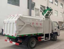 6方挂桶垃圾车配置图片