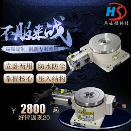 高精度大载量旋转分度盘320DT气动分度盘 可加载600mm铝盘