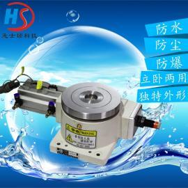 专业生产HSD-250DT气动分度盘电动分度盘凸轮分割器气动回转台