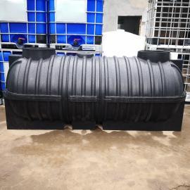 高品质环保化粪池3吨农村三格化粪池水循环环保厕所可定制