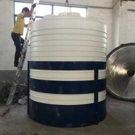 大型塑料水箱10立方农业灌溉水箱酸碱储运罐塑料水桶定制款