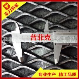加工定做重型钢板网 装饰网 脚踏网 菱形孔网