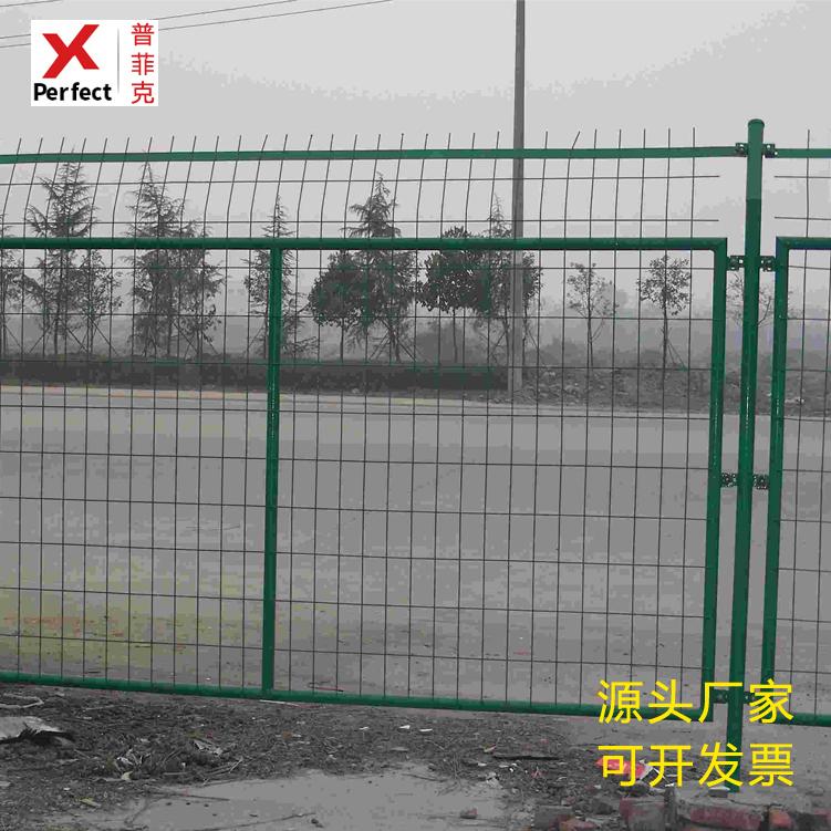 现货框架护栏网 边框护栏网 公路护栏网 浸塑围栏网规格