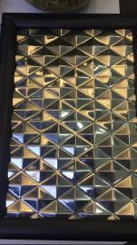 会所装饰用不锈钢镜面镀钛凹凸压纹板欧式会所不锈钢冲压板