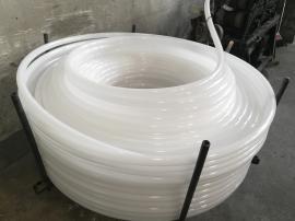 PE全新料白色盘管的规格、直径、厚度、重量对照表