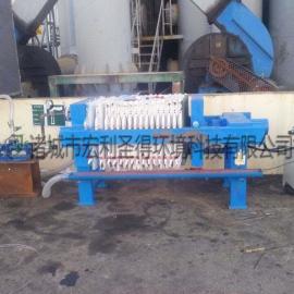 小型板框压滤机 小型板框式污泥压滤机 手动板框式污泥压滤机
