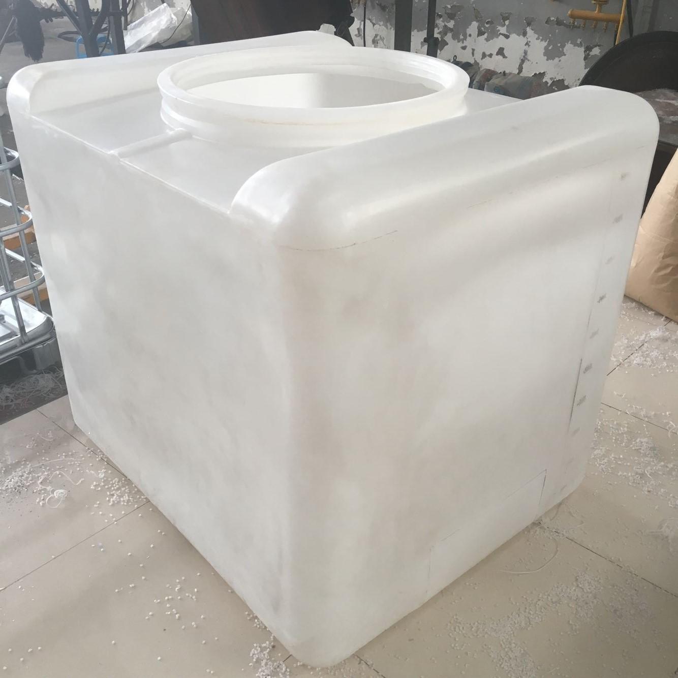 1吨大口径带铁架塑料吨桶液体化工罐油吨桶说明ibc塑料集装桶