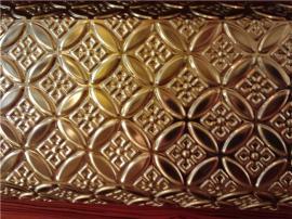 酒店装饰不锈钢立体压花板墙面装饰浮雕板
