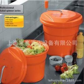 法国原装进口Dynamic 动力蔬菜甩干桶色拉桶沥水桶脱水器20L商用