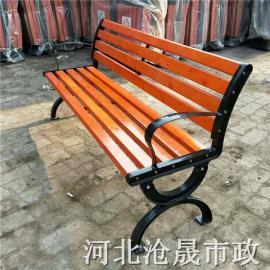 小区公园椅 防腐木平凳