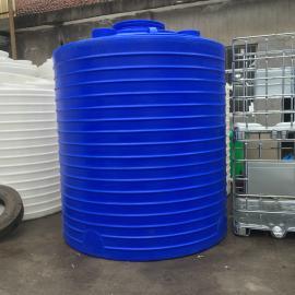 环水处理工程专用高位水箱5吨聚乙烯水箱滚塑加工PE储罐可定制