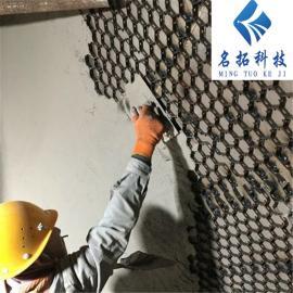 龟甲网防磨料 钢厂烟道陶瓷耐磨料 防磨料