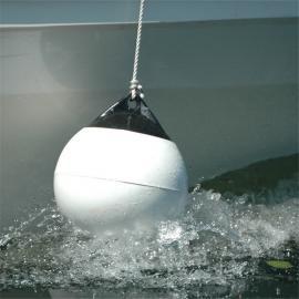 船只下锚浮球 直径600mm双吊环定位锚点浮球