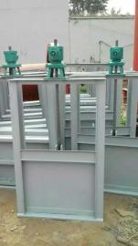 弘鑫水利 机闸一体式钢闸门
