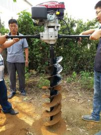 可提升栽杆钻孔效率的电线杆挖坑机