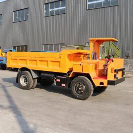 全新中型小型自卸车前驱柴油机运输车 河道拉石头用运输车