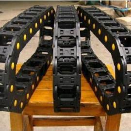消音工程塑料拖链,桥式,半封闭式,全封闭