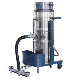 大面积用手推式工业吸尘器上下分离桶吸粉尘颗粒焊渣木屑吸尘器