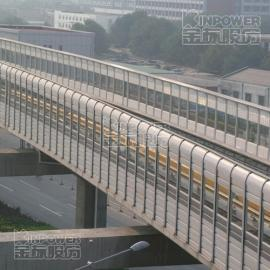 桥上声屏障立柱和基础的连接