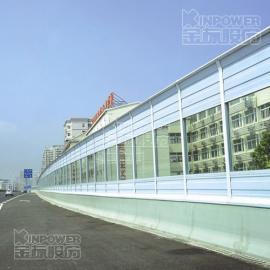 高速公路上 噪声控制方法 百叶孔隔声屏障型号