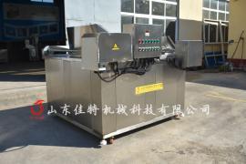 电加热江米条油炸机自动化程度高
