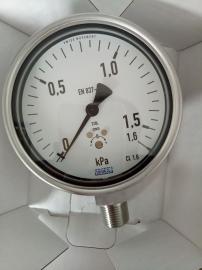 德国威卡WIKA不锈钢膜盒表 膜盒式压力表