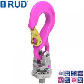 德国RUD进口万向旋转吊钩吊点PP-S原装路德旋转吊钩索具五金工具