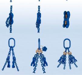 德国THIELE进口四肢吊链固定式吊具XL原装蒂勒100级起重链条索具