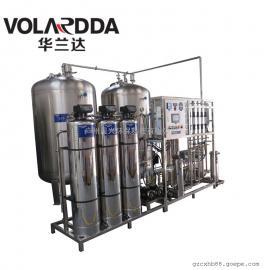 医药加工制造厂用高纯水设备 全不锈钢双级反渗透+EDI超纯水设备
