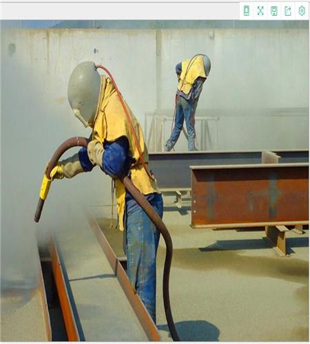 钢结构除锈清理喷砂机