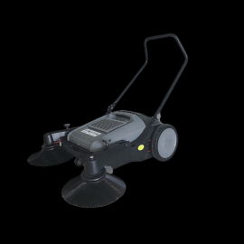 JH980T手推式扫地机无动力扫地车工厂车间用吸尘清扫机