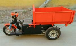 工程运输拉料电动翻斗自卸车