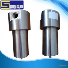 高压大口径不锈钢气体过滤器0-400bar 5微米高压过滤器1NPT螺纹