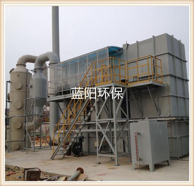 嘉兴工业废气催化燃烧 氮气脱附