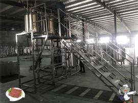 全自动鸭血豆腐生产线设备