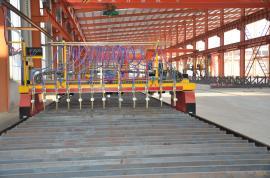 中焊自动化H型钢生产线多头直条数控火焰切割机CNC-5000型