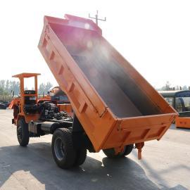 全新矿用四不像翻斗车8吨10吨可定做四不像后翻斗矿用车