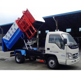 挂桶垃圾车-自装自卸垃圾车