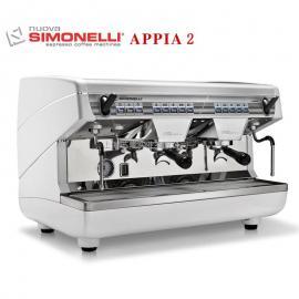 意大利原装Nuova APPIAI2诺瓦双头半自动咖啡机 商用意式机 高杯