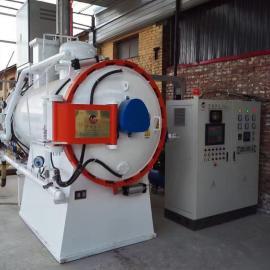 双室油淬真空炉 卧式双室油淬气冷真空炉 真空油淬电阻炉