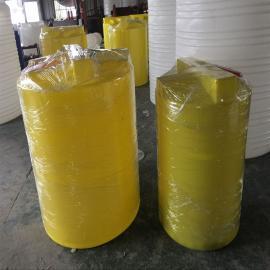 500L耐酸碱PE加药箱 塑料加药罐 耐酸碱加药桶