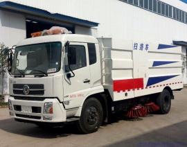 12方东风天锦扫路车 程力威路面清扫车