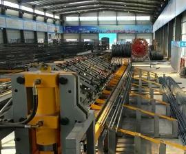 数控液压钢筋剪切生产线--钢筋棒材定尺切断