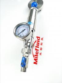 卫生级不锈钢手动调节减压阀,食品级手动调节减压阀规格