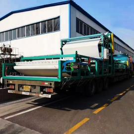 贝特尔洗沙尾泥脱水机 带式污泥压滤机 运行稳定 品质高